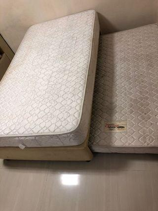 Super Single pull out bed