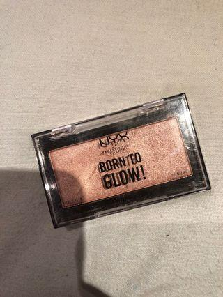 NYX born to glow hilighter