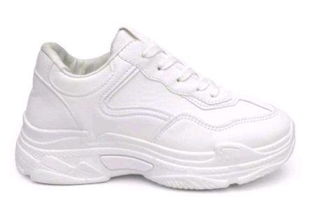 PVN Spatu Sneakers wanita sport shoes white