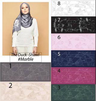 Duck marble shawl