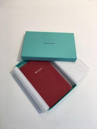 Tiffany Small Leather Notebook
