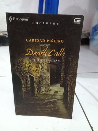 Preloved Novel Death Calls / Seruan Kematian - Caridad Piñeiro