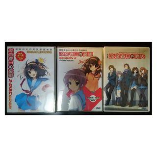 角川官方授權 涼宮春日的憂鬱(1+2) 涼宮春日的消失 DVD (不散賣)