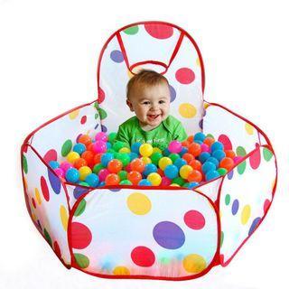 Kids baby ocean ball pit tent
