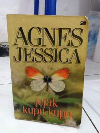 Preloved Novel Jejak Kupu-Kupu - Agnes Jessica