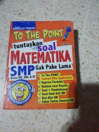 Buku Rangkuman Matematika SMP #maugopay
