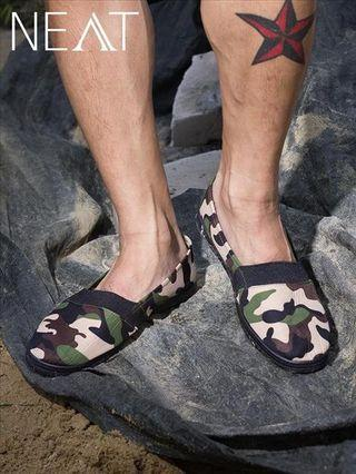 Men Camouflage shoes