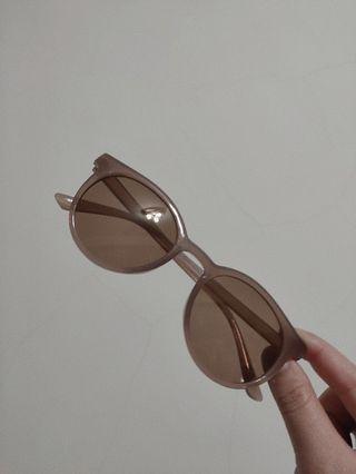 🚚 墨鏡 奶茶色/咖啡色框 茶色鏡片