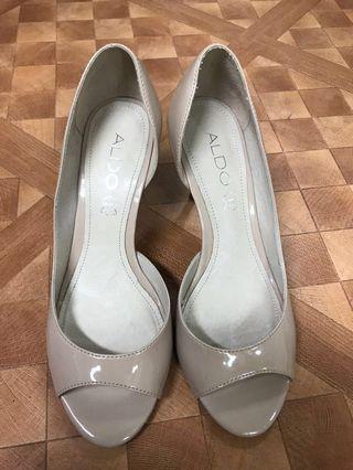 Aldo 米色高根鞋 2.5寸 Eur36 Uk4 High heel shoes
