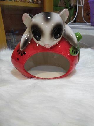 🚚 Hamster ceramic hideout (very big)