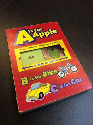 A is for Apple - Slide and Learn
