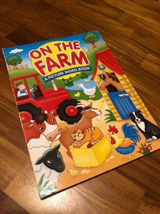 🚚 On The Farm - A Picture Word Book