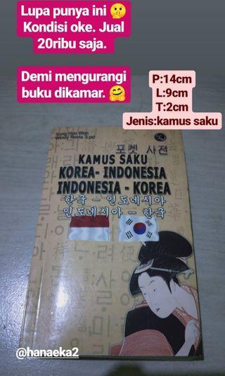 Kamus saku Korea-Indonesia