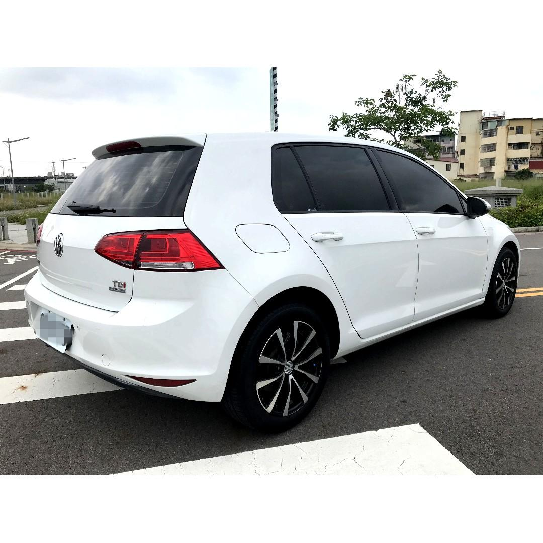 2014 福斯VW GOLF MK7 1.6 TDI