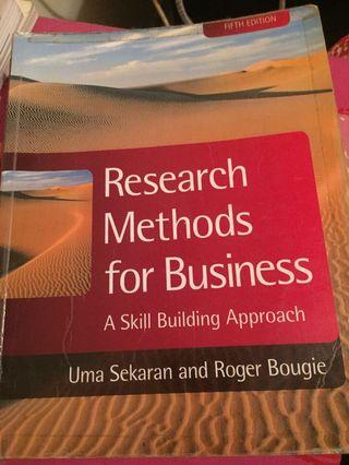 Research for business method