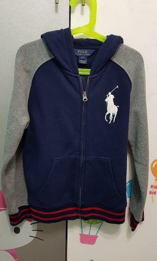 Preloved polo ralph lauren jacket hoodies
