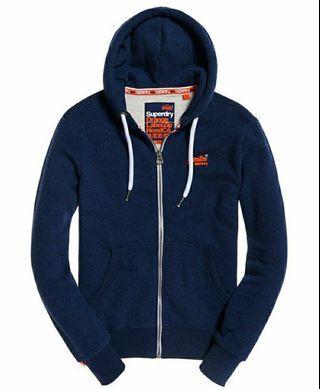 Superdry Orange Label Men's Zip Hoodie Jacket