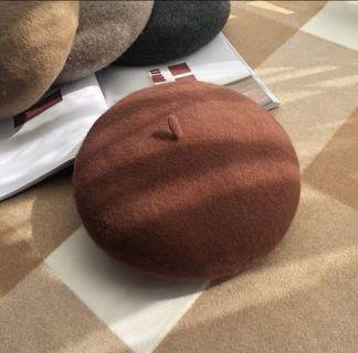 平讓 $45兩頂全新 可調節尺寸 畫家帽 貝蕾帽
