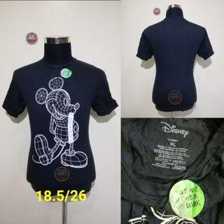 MICKEY MOUSE GLOW IN THE DARK T-SHIRT