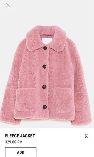 Zara fleece jacket