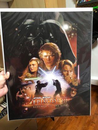 Star Wars Movie Poster Episode 3