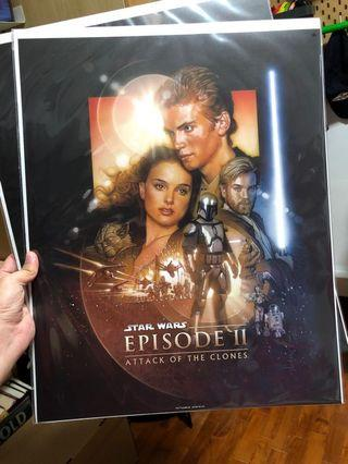 Star Wars Episode 2 Movoe Poster