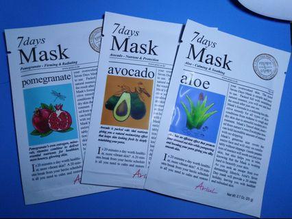 #SOCIOLLACAROUSELL Sheet Mask