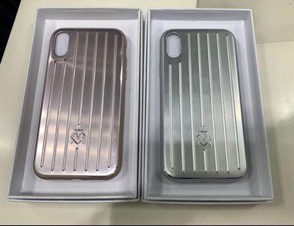 Rimowa 鎂鋁合金iPhone手機殼 全新正品Rimowa aluminium iPhone case