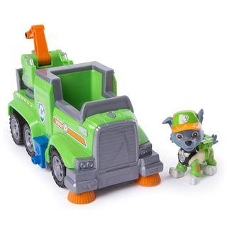 Paw Patrol Rocky's Ultimate Rescue Recycling Truck With Moving Crane And Flip-Open Ramp