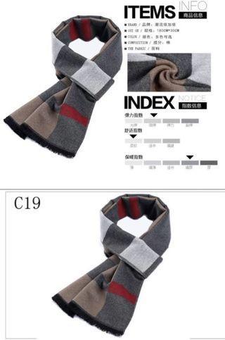 Winter scarf (Korean style)