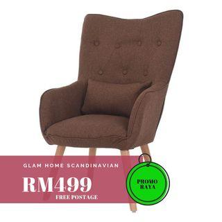 Wing Chair (FREE POSTAGE) NO COD NO SELFPICKUP