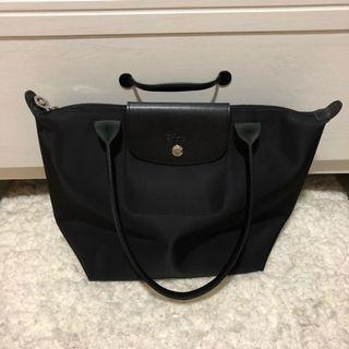 Longchamp Medium size long handle black