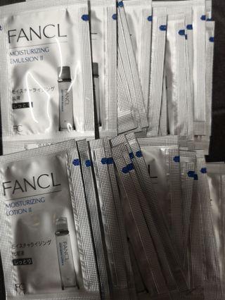 FANCL Moisturizing sample/旅行裝