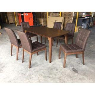 6 Seater Dining Table (FREE POSTAGE) NO COD