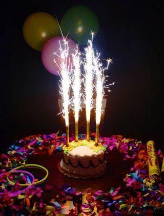 Sparkler Candle | Firework Candle | Sparkling Candle | Birthday Candle