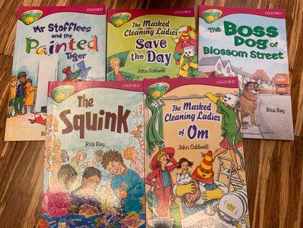 Oxford Tree Tops storybooks