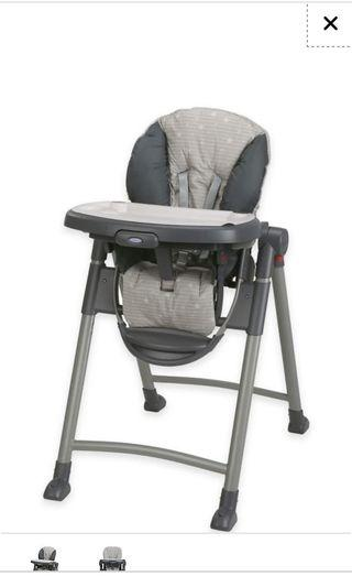 Cheapest on Carousell Slim Travel Storage Graco Contempo Highchair