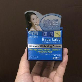 Hada Labo Shirojyun Night Cream