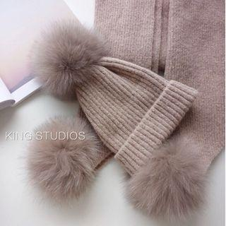 Winter Scarf and Hat (one set)