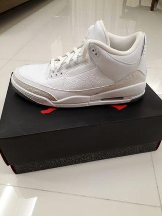 Jordan 3 Triple White