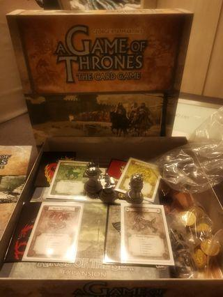 Game of Thrones the Card Game + Kings of The Sea expension