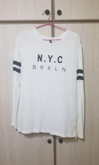 Sale - H&M White NY top