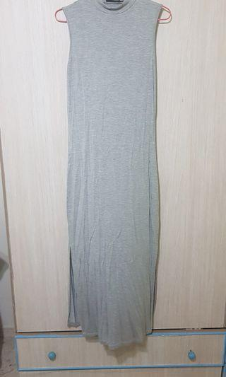 SALE - Grey Sleeveless Dress