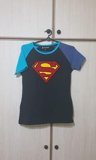 SALE - Original Superman T Shirt Woman