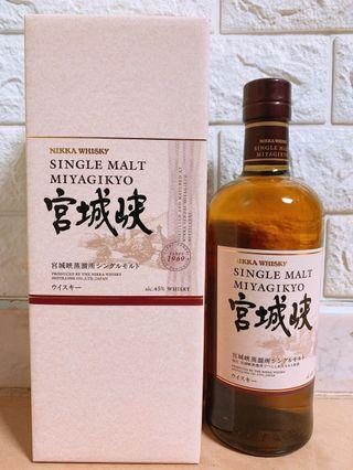 宮城峽NAS 45% 單一麥芽威士忌 - MIYAGIKYO NAS 45% Single Malt Whisky