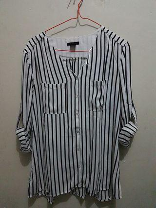 Stripe blouse H&M
