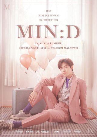 WTS Kim Jaehwan [MIN:D] Fanmeet In Malaysia