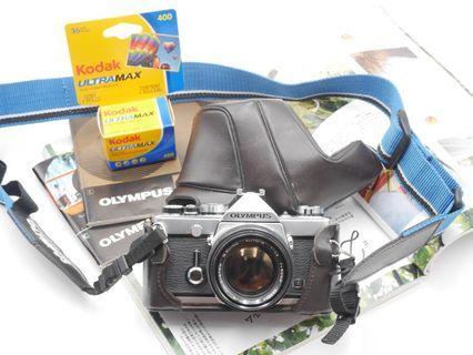 Olympus OM1 Film SLR + 50mm F1.4