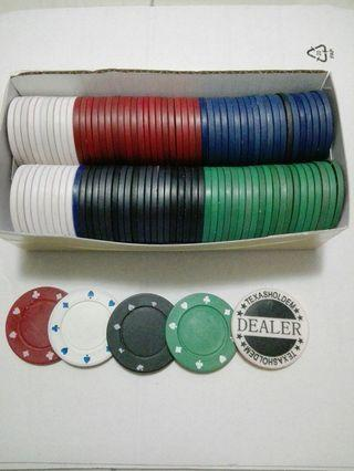 Texas Hold'em Poker Chips