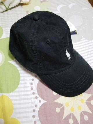 Ralph lauren polo cap black 帽